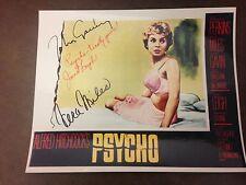 Janet Leigh Vera Miles John Gavin Psycho 8X10 PHOTO AUTHENTIC Signed