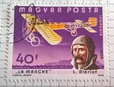 Hungary stamps - Louis Bleriot and La Manche    1978 40 forint