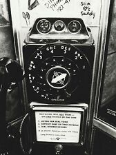"""*Postcard-""""The Classic Rotary Payphone""""  /Picture/ (B490)"""