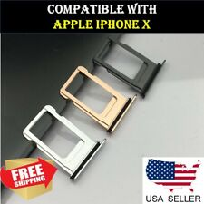 OEM Sim Card Holder Slot Sim Card Tray Replacement For iPhone X 10 Waterproof
