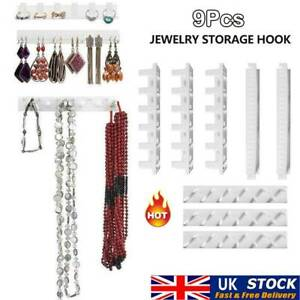 9X Jewelry Set Wall Hanger Holder Stand Organizer Necklace Bracelet Earring New