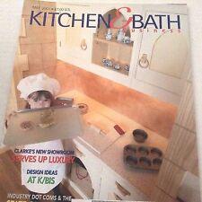 Kitchen & Bath Business Magazine Clarke's New Showroom May 2001 071317nonrh3