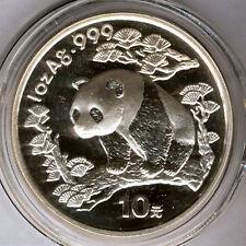 Cina 10 Yuan 1997 ORSO PANDA @ 1 oncia argento puro @