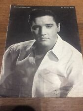 """Vintage 1963 Elvis Presley Picture Photo from Pop Weekly Magazine 9.5"""" x 7.5"""""""