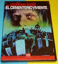 EL CEMENTERIO VIVIENTE / PET SEMATARY Stephen King DVD R2 Precintada