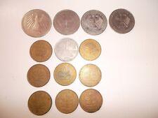 Münzen 1/2/5 D-Mark DM - 8 x 10 Pfennig