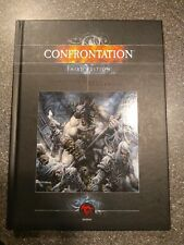 Rackham Confrontation 3rd Edition Rulebook Third Ed. Hardback English OOP RARE