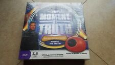 The Moment of Truth LIE Detector Board Game NEW SEALED