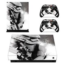 Star Wars Stormtrooper Xbox one X Console Vinyl Skin Decals Stickers Covers Set