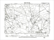 OLD ORDNANCE SURVEY MAP TRING 1897 OKEFORD FROGMORE WEST LEITH WESTERN ROAD