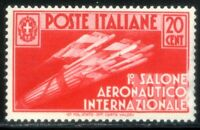 Regno d'Italia 1935 1° Salone Aeronautico Internazionale n. 384 ** (l755)