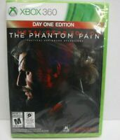 XBOX 360 Day One Edition Metal Gear Solid V The Phantom Pain New Video Game