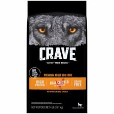 Crave Adult Dog Food With Protein From Chicken 4 lbs.