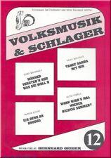 Volksmusik und Schlager Band 12 : für Akkordeon (Keyboard, Klavier,Text)