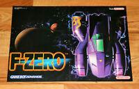 2001 Nintendo F-Zero / Excitebike 64 very rare small Poster 30x42cm N64 GBA Rare