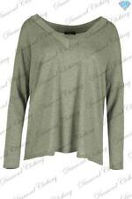 Autumn Polyester V Neck Jumpers & Cardigans for Women