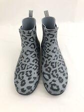 Hunter Ladies' Original Chelsea Waterproof Rain Boots, Size 9 Leopord