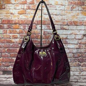 Coach Madison Purple Maggie 18760 Handbag - Shoulder Bag
