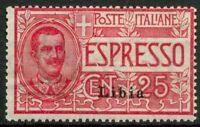 Libia 1915 Sass. EX1 Nuovo * 100%