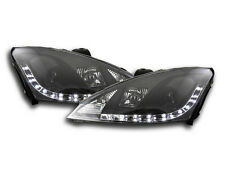Ford Focus MK1 2001-2004 Black LED Daylight Running Headlights RHD FREE P&P NEW