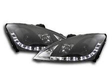 FORD Focus MK1 2001-2004 NERI LED DAYLIGHT RUNNING fari RHD gratis P&P Nuovo