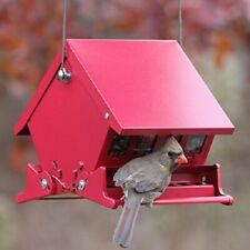 WoodLink Absolute Ii Mini Squirrel Proof Bird Feeders Red Heritage Farms 7458