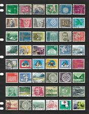 SWITZERLAND stamp selection (REF.656)