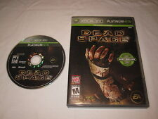 Dead Space (Microsoft Xbox 360) Platinum Hits Game in Case Excellent!