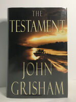 JOHN GRISHAM - The Testament - SIGNED - 1ST EDITION / 1ST PRINTING - 1999 - HCDJ