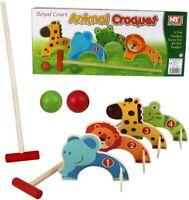 Royal Court My Outdoor Games Children's Garden Animal Croquet Play Set BNIB #NG