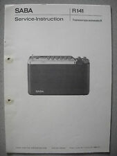 SABA Transeuropa Automatic K Service Manual