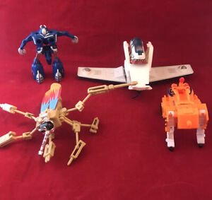Mixed Lot Of Transforming Toys