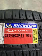 1 New 235 50 17 Michelin Pilot Sport A/S-3 Tire