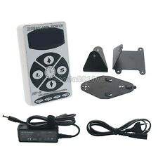 Hurricane HP-2 White Dual Digital LCD Tattoo Power Supply Machine New panUK#