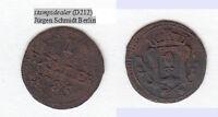 Cu Heller 1786 Augsburg Stadt Forster 705 Münze rauh (D212) stampsdealer