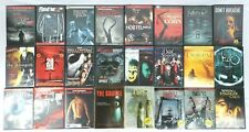 Huge Horror Dvd Lot 24 Movies Halloween Saw Friday the 13th Freddy vs Jason More