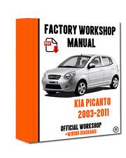 kia carens 2002 2006 workshop factory repair manual