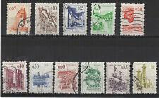 Yougoslavie  1966 pont de Mostar 11 timbres oblitérés /T2145