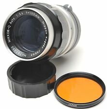 Nikon Nikkor-Q Auto 135mm F3.5 Lens Non-Ai