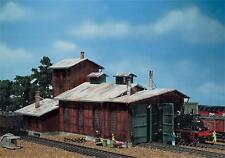 Faller 2 Stall Engine Shed with Workship and Side Building 120161 HO & OO Scale