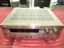 YAMAHA RX-V 595 ARDS DTS/DOLBY DIGITAL receiver, Titanio/Argento, 2j. GARANZIA