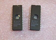 QTY (5) TMS27C512-2JL TI  28 PIN CERAMIC  DIP EPROM CLEANED & ERASED