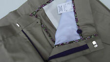 "Paul Smith LONDON Color topo color Pantalones Made in Italy W34"" L37"""