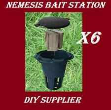 6 NEMESIS termite monitor bait station for termite treatment and inspection