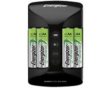 Baterias Recargables Para AAA AA Cargador Energizer Litio Pilas De Energizer w/4