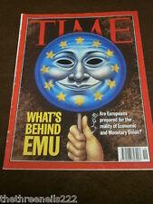 TIME MAGAZINE - THE EMU - MAY 11 1998