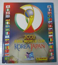 MUNDIAL KOREA JAPAN 2002 ALBUM FIFA WORLD PRINTED BY PANINI OFFICIAL REPRINTED!