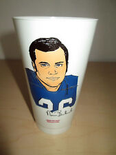 1973 7-Eleven Nfl Football Slurpee Cup. Norm Bulaich, Baltimore Colts