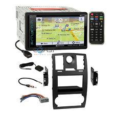 Soundstream DVD USB GPS Sirius 2Din Dash Kit Harness for 2005-07 Chrysler 300
