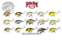 Strike King KVD 1.5 Shallow Squarebill Crankbait 2.5in 3/8oz - Pick